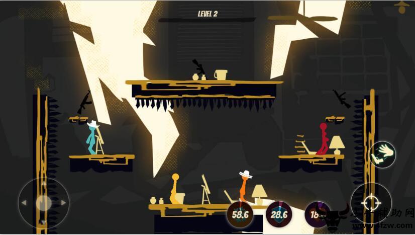 阴影基于物理的格斗游戏