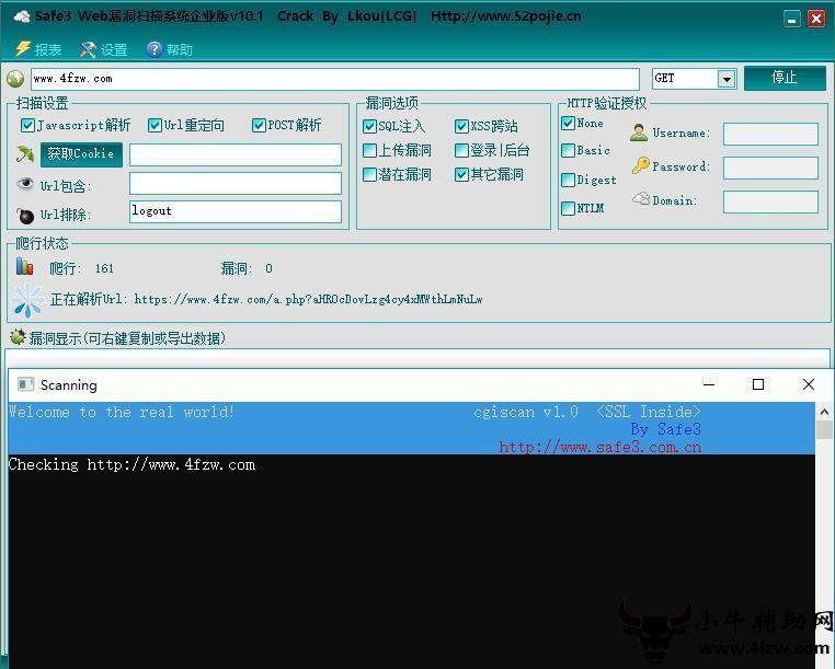 网站漏洞一键检测神器PC版