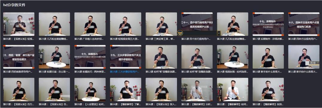 快手总监亲授:玩转短视频教程