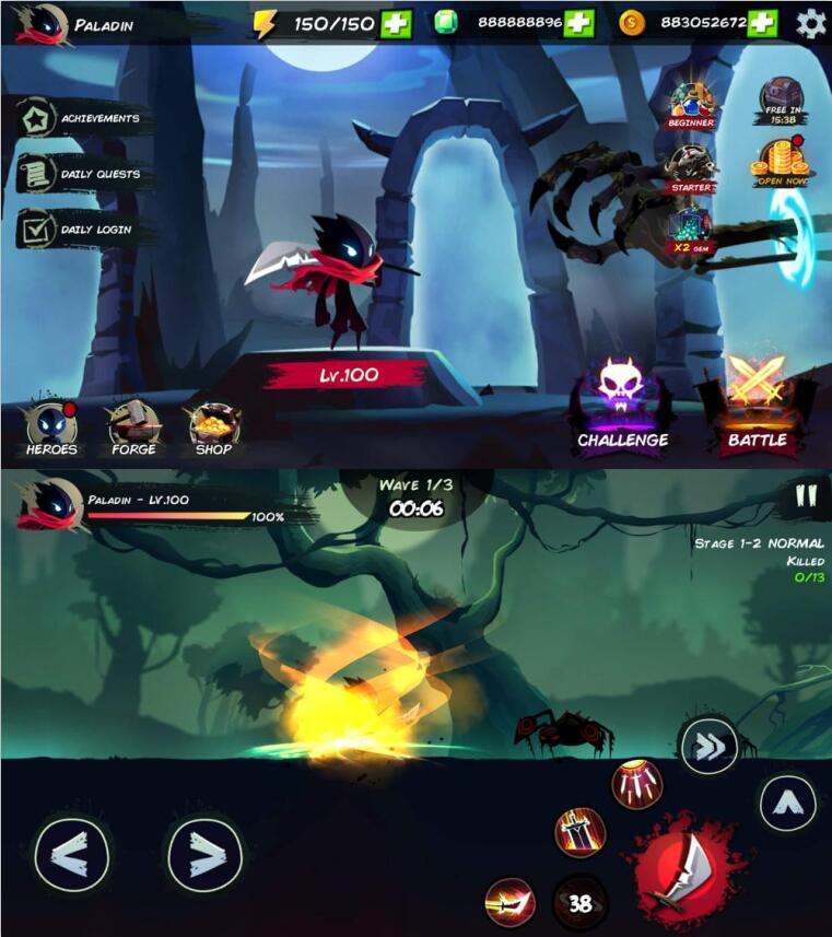 暗影刺客动作冒险战斗游戏