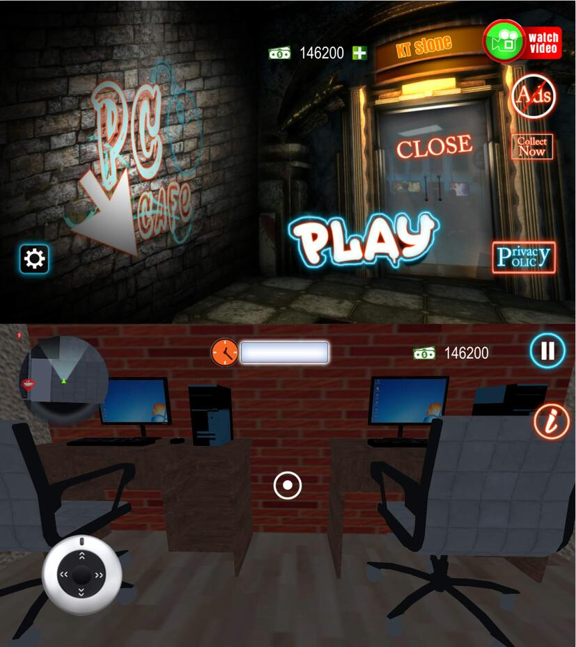 全网很火的网咖模拟器手机游戏