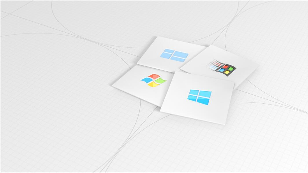 微软官方周年庆无损电脑壁纸2张