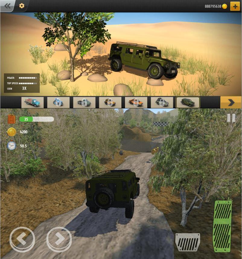 疯狂越野驾驶模拟类游戏