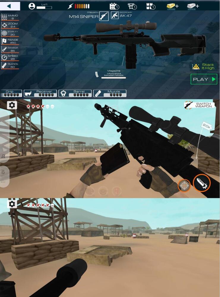 神枪狙击手第一人称射击游戏