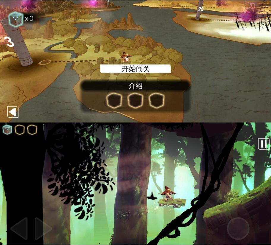 魔法机器人娱乐闯关游戏