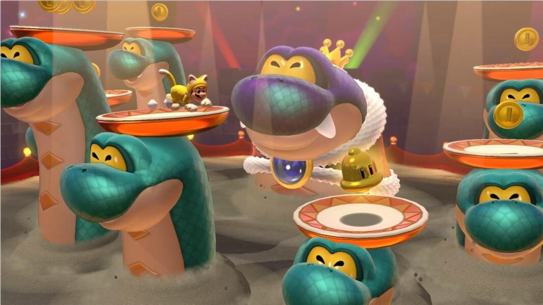 《超级马里奥3D世界+狂怒世界》游戏